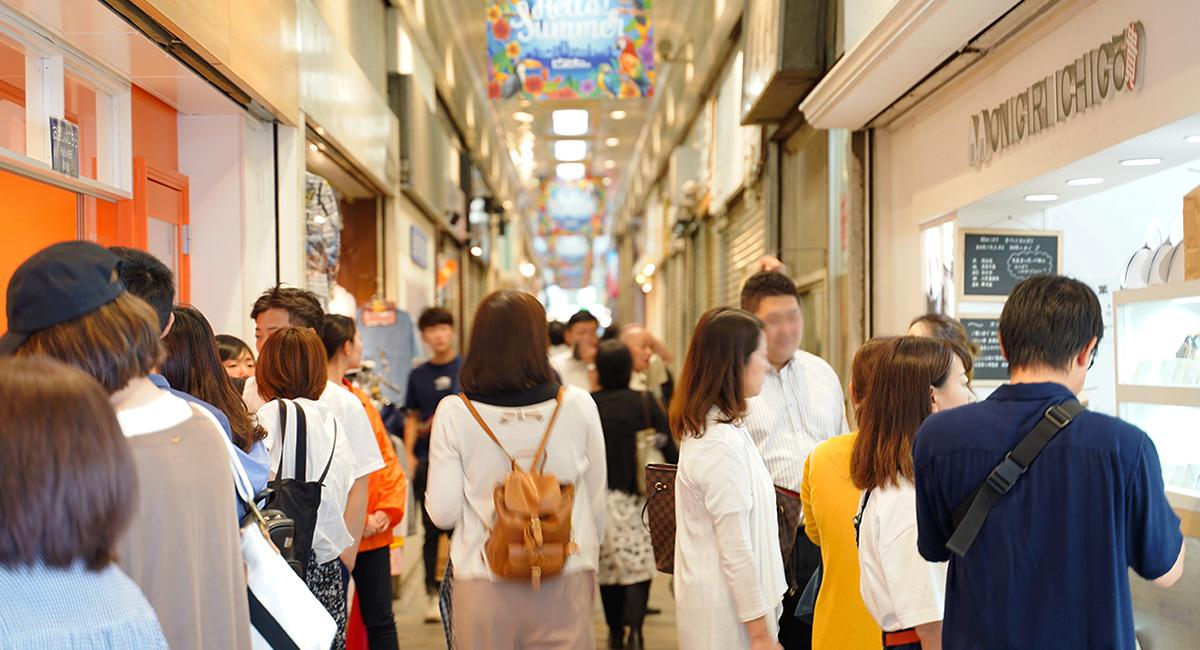 三宮高架商店街ピアザKobeの店舗